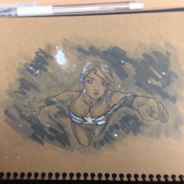 #tonedpaper #study #masterstudies #art #illustration #draweveryday #copic #marker #sketch