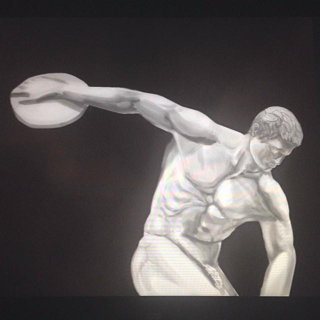 #study #masterstudies #ancient #greek #statue #painting #illustration #drawing #art #sketchbook