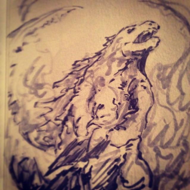 #godzilla #fanart #illustration #art #drawing #sketchbook #sketch