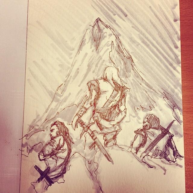 #study #masterstudies #art #painting #copic #marker #draweveryday #sketching #sketchbook  #conan #justinsweet