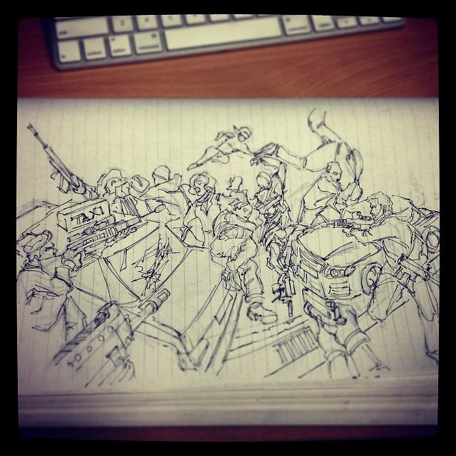 #kimjunggi #study #masterstudies #draweveryday #sketchbook #sketching #illustration #art