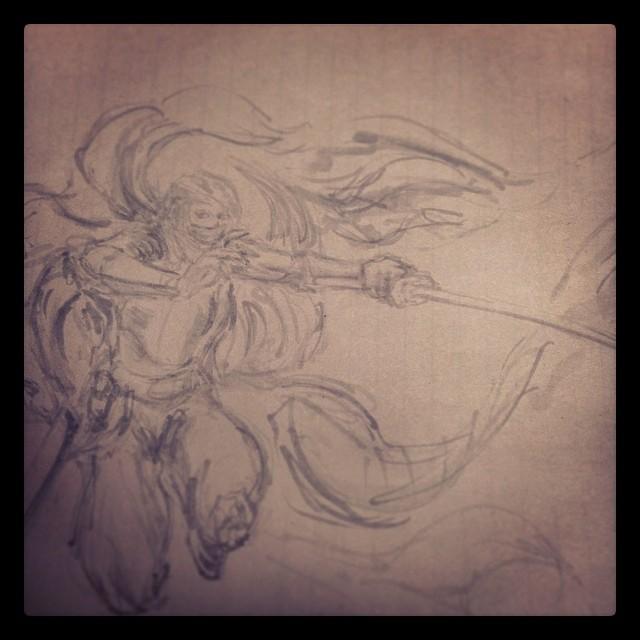#art #illustration #drawing #masterstudies #study #sketchbook #painting