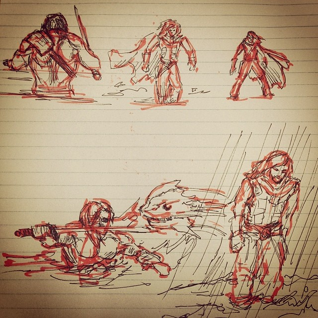 #hercules #noah #movies #fanart #sketch #sketchbook #draw #art #illustration