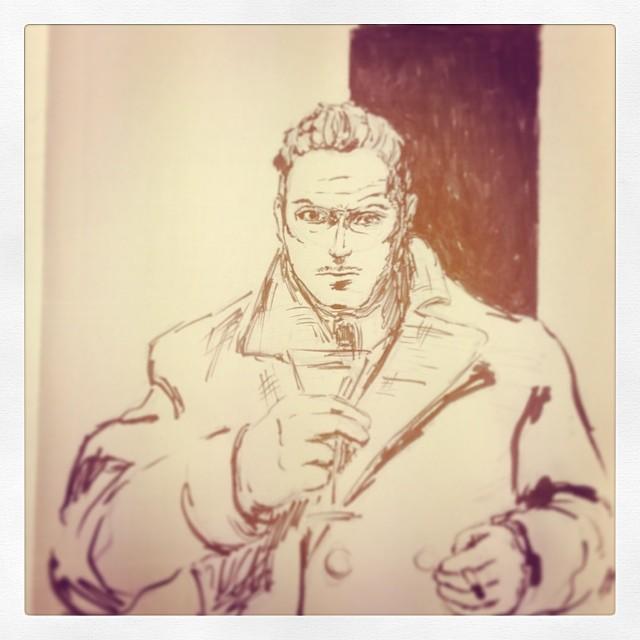 #art #illustration #ink #drawing #instaartist #sketch #sketchbook