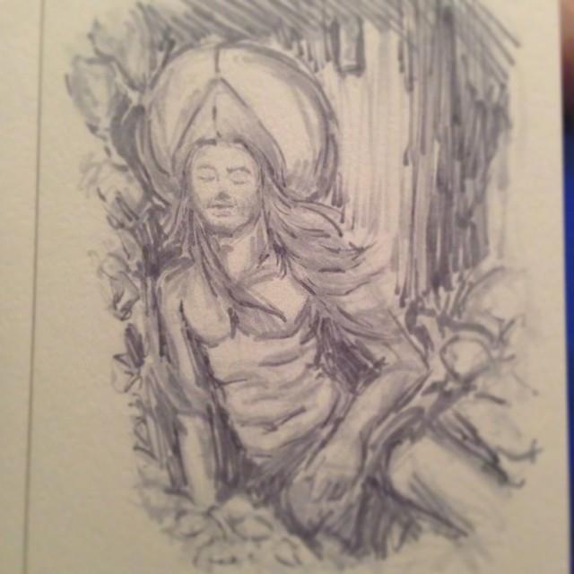 #art #illustration #drawing #masterstudies #painting #marker #copic #sketchbook