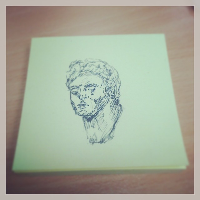#postitnote #sketch #drawing #art #illustration #sketchbook