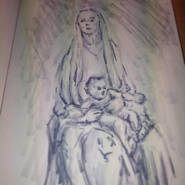 #art #illustration #drawing #copic #painting #masterstudies