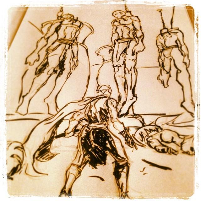 #art #drawing #illustration #ink #thor #marvel