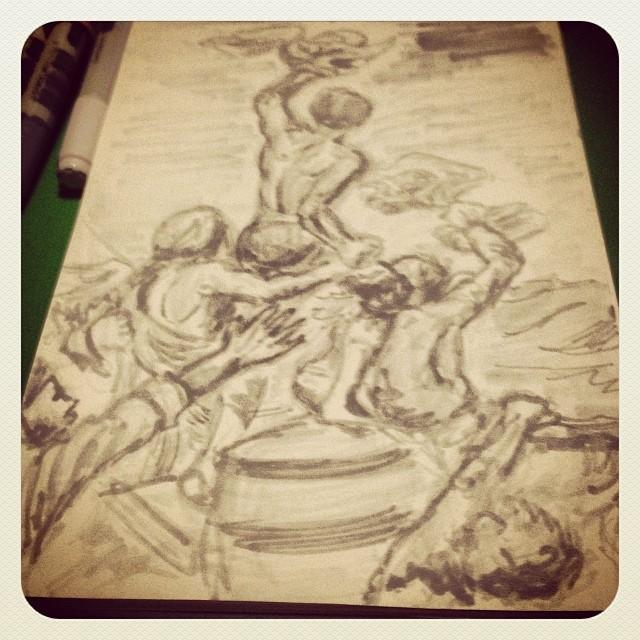 #art #illustration #drawing #instaartist #rembrandt #painting #masterstudies