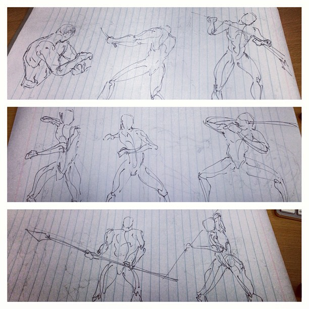 #art #illustration #drawing #quickposes