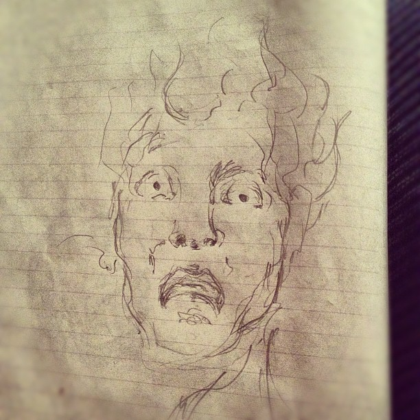 #drawing #art #illustration #wahh!? (Taken with  Instagram )