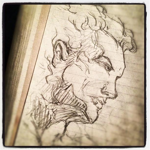 #art #drawing #illustration  (Taken with  Instagram )