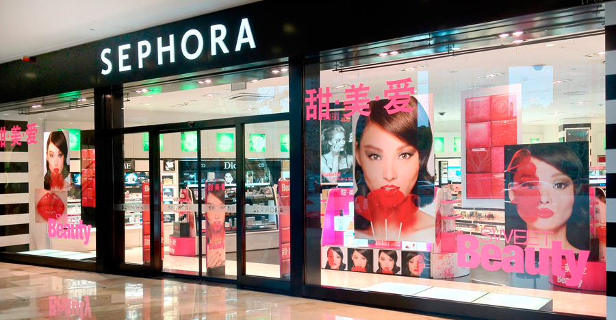 A Sephora shop