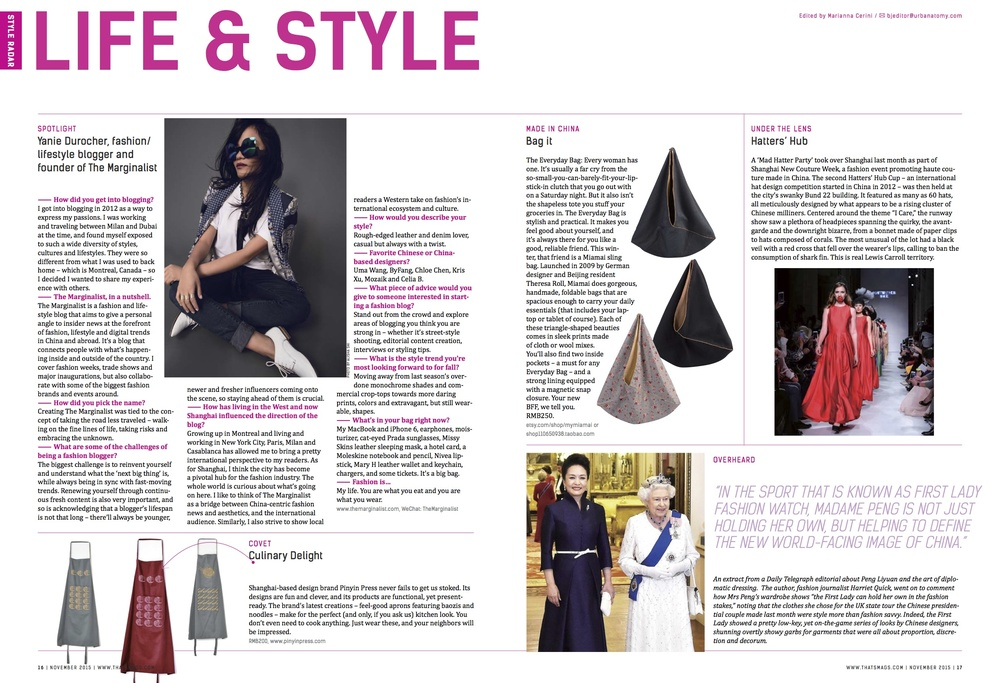 Lifestyle - November issue 2015
