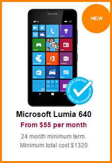 "Lumia 640 and 640XL are ""Blue Tick"" tested."
