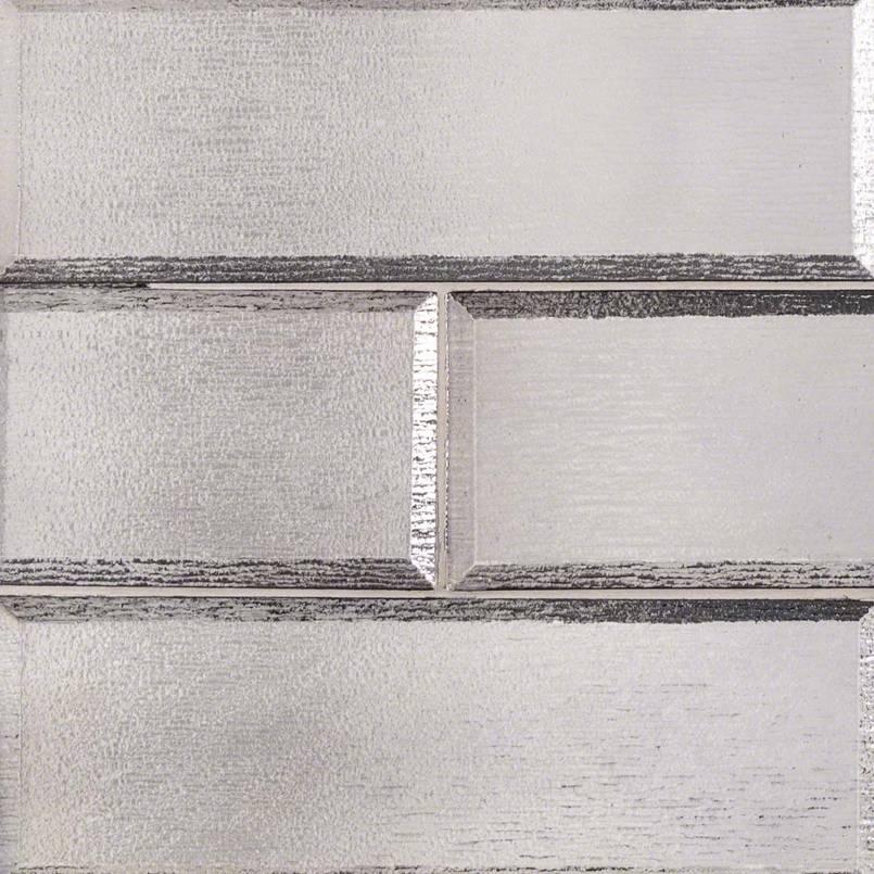 Gray Glisten Subway Tile 4x12 75 Cabinets