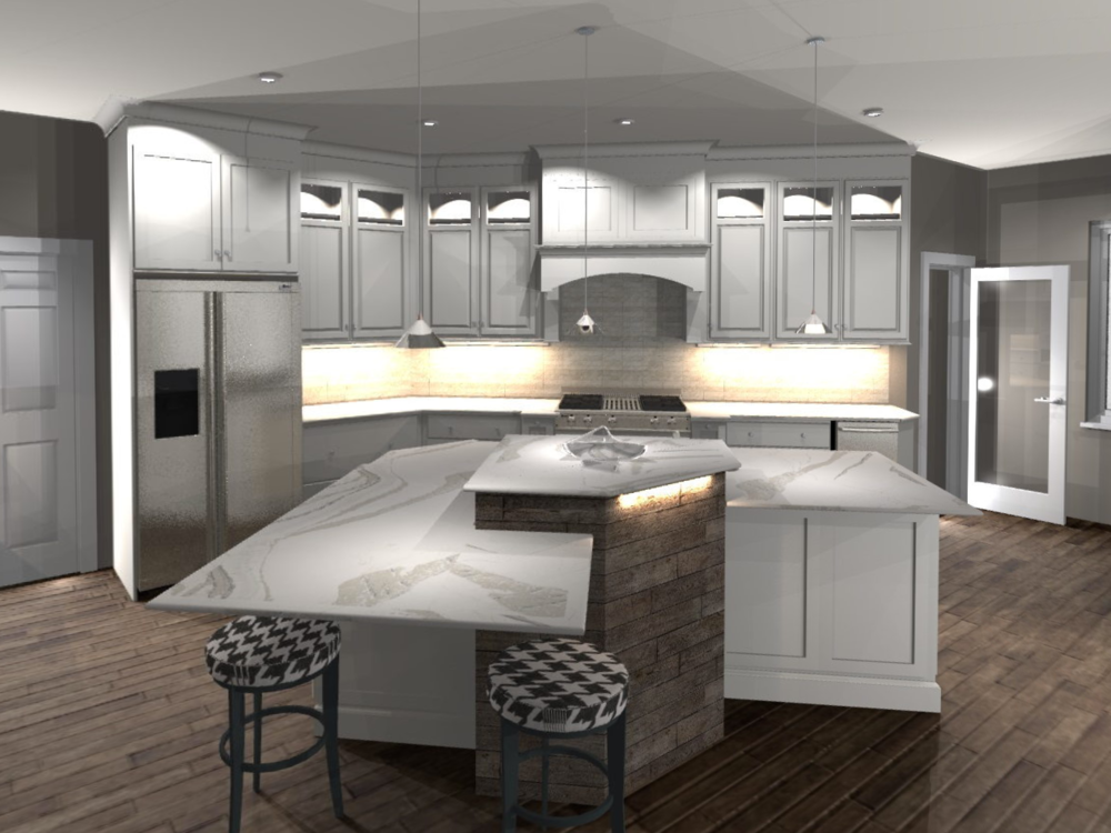 3D Design - Seeing is believing. We can help you see what your project is going to look like. No guessing about it!