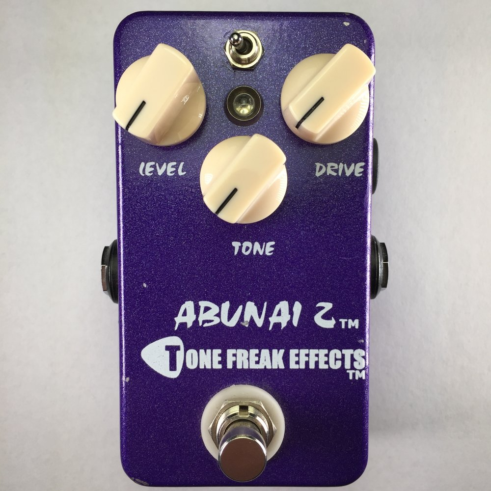 Tone Freak Abunai 2 Overdrive Pedal