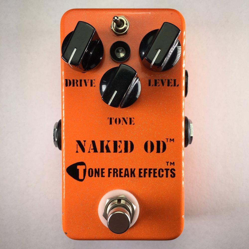 Tone Freak Naked OD Overdrive Pedal