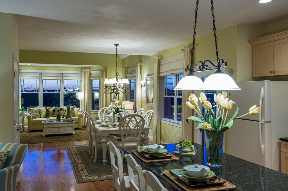Twilight Dining Room