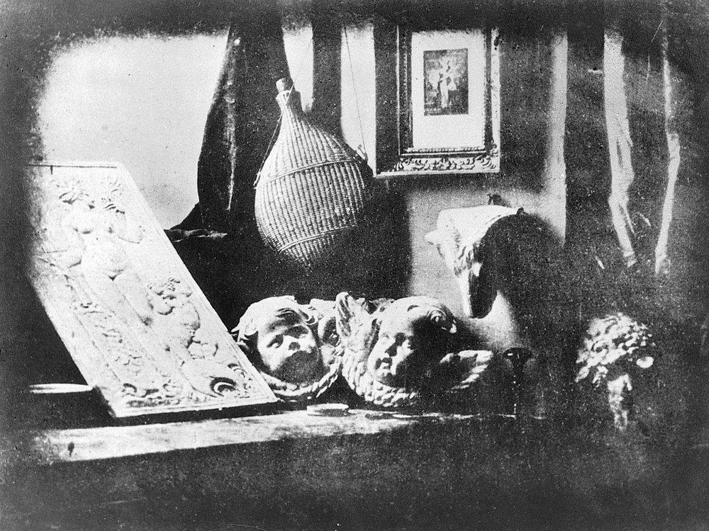 Луи Жак Манде Дагер. «Мастерская», 1837