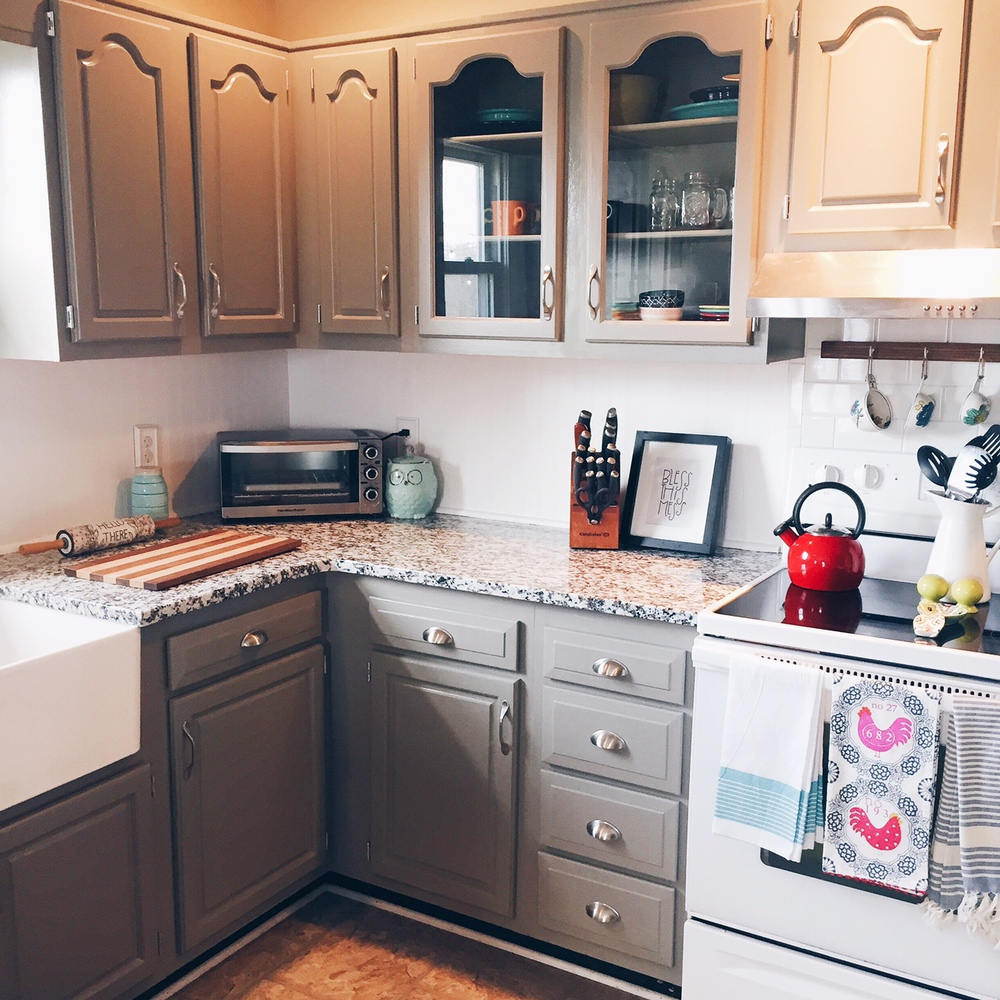 Chalk Paint Kitchen Cabinets Durability: Kitchen Before & After