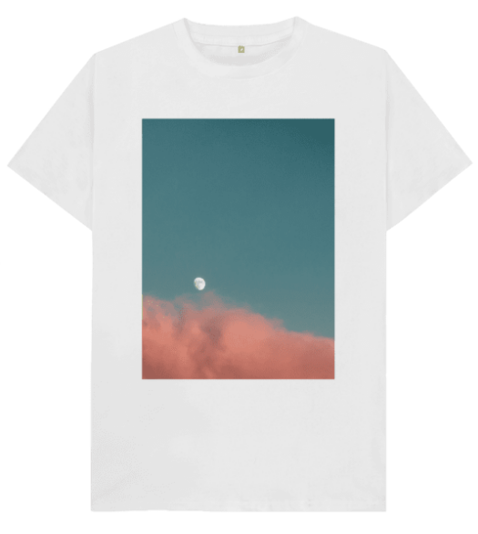 MOON Tee by SEVERAL WORLD