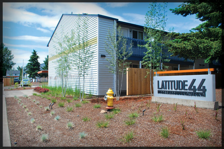 Rehabbed 2013 - Lattitude 44 -Albany, Or. 124 Units