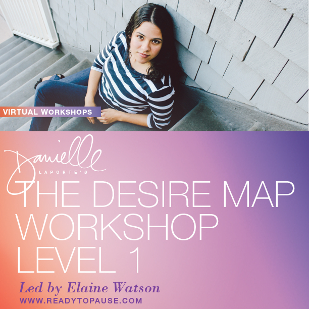 Desire Map Virtual Workshops led by Elaine Watson