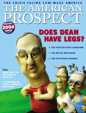 It might seem hard to believe, but for a brief moment in 2004 it looked like Howard Dean's to lose.