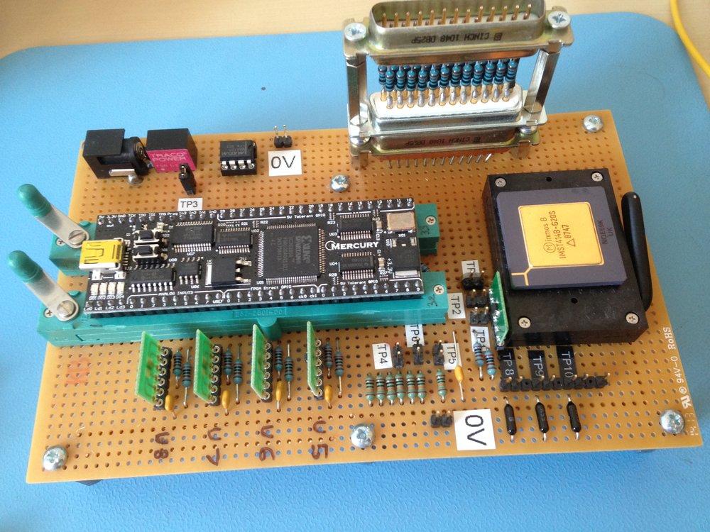 Inmos T414B test board