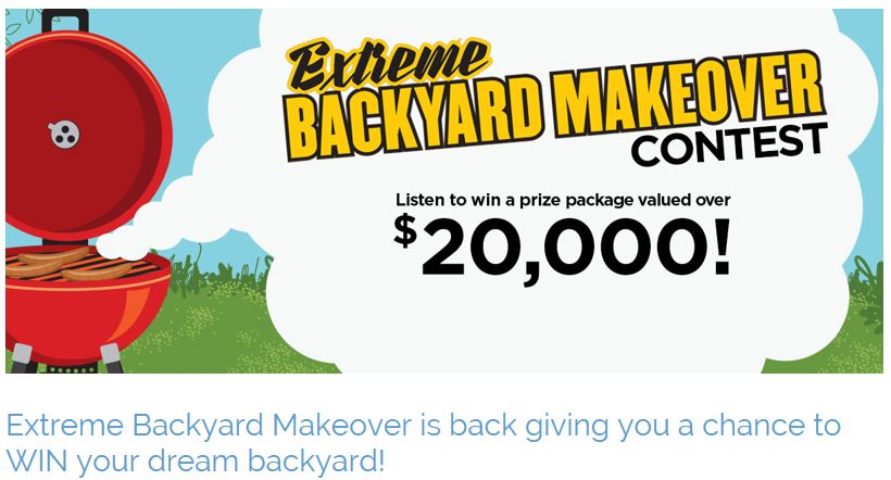 Star 94.7 FM Backyard Makeover - Enter at Fast Gas in Onanole to win a prize package worth $20,000. Including Hydroseeding from us. More info click on the image.