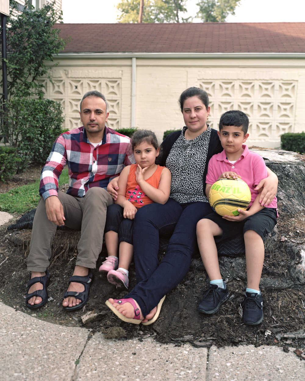 Newly Arrived Family from Syria in Toledo, Ohio (Youssef, Shahank, Rouda, Mohammed) (2016)