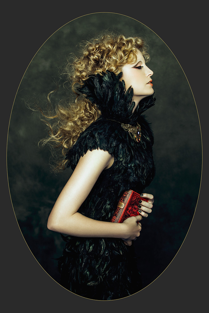 Motherland Chronicles #25 - Raven Girl , 2013   Print Available