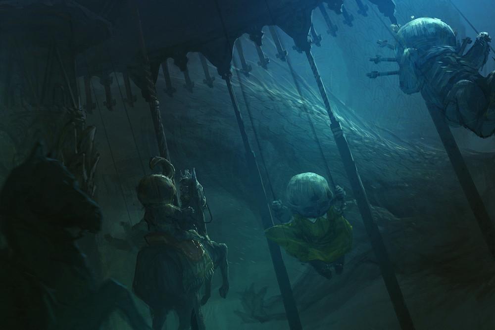 Tobias Kwan   Underwater Carousel  2013