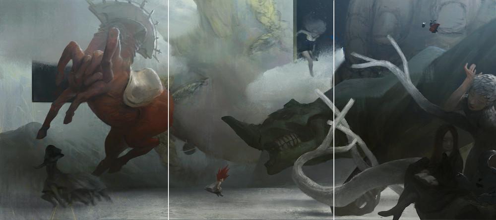 Tobias Kwan   Triptych  2013