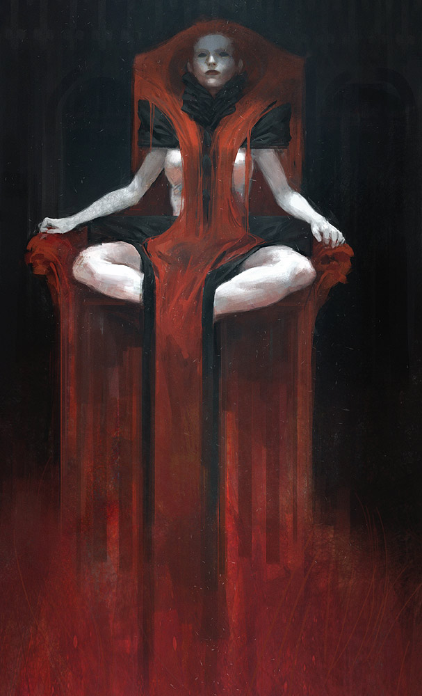 Tobias Kwan   Throne Lady  2013