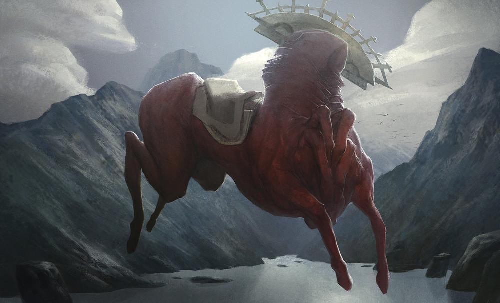 Tobias Kwan   Red Horse  2013