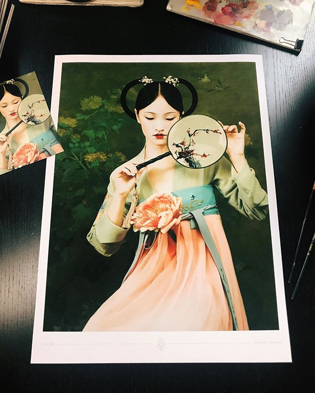 New posters! motherlandchronicles.com/store ♥️ #zhangjingna #zemotion #motherlandchronicles
