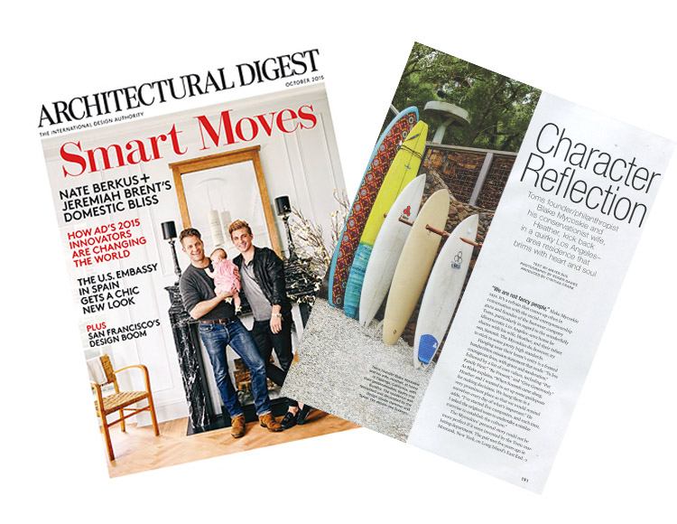 Hammer and Spear/Blake Mycoskie Home Project Featured in AD