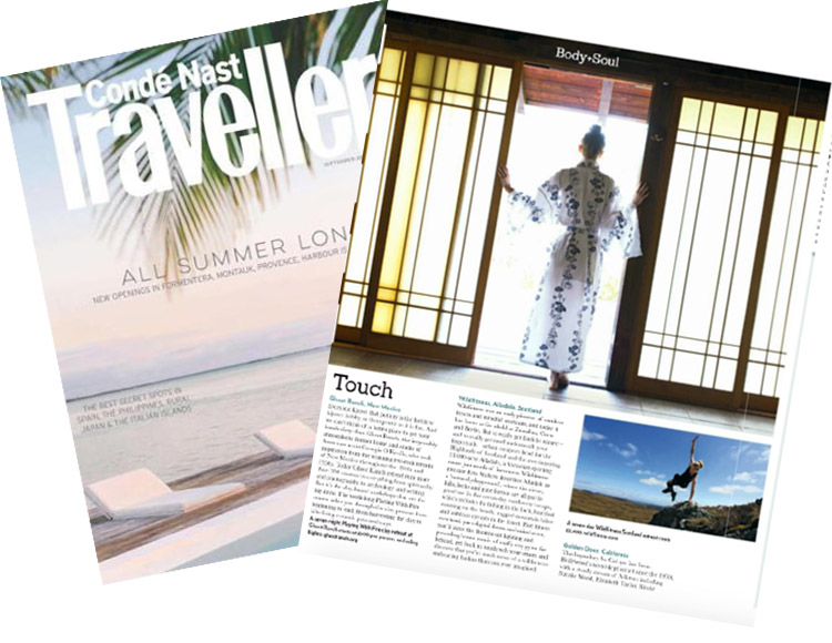 Golden Door in Conde Nast Traveller UK