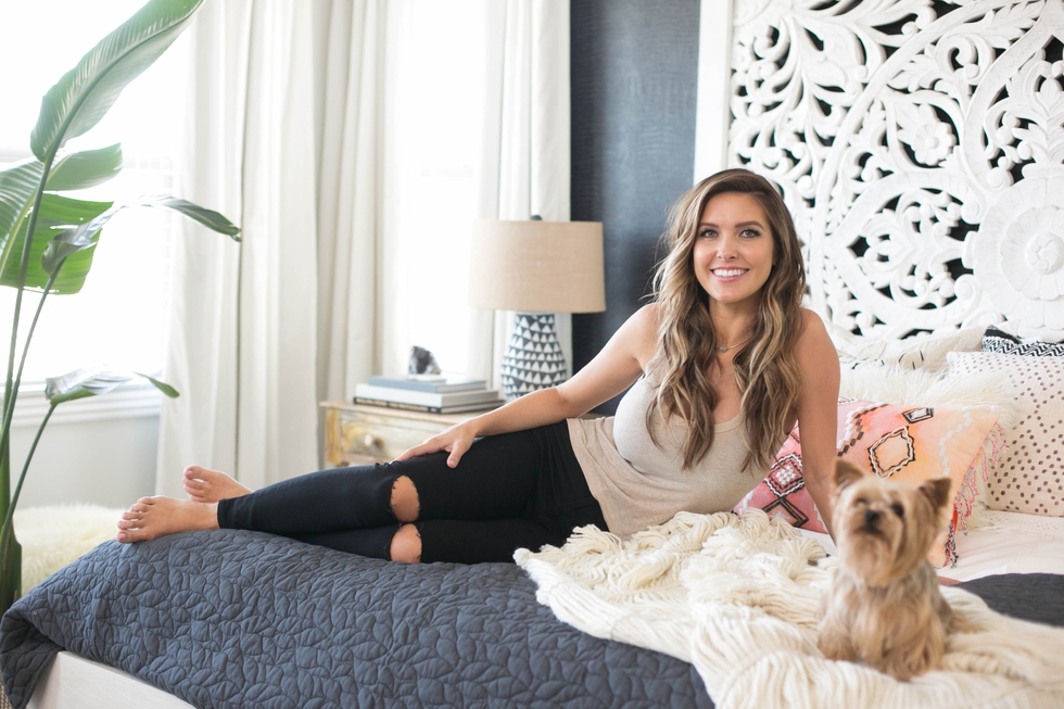 Audrina Patridge + Decorist - We partnered Audrina Patridge with the online design service Decorist to create a Bali inspired bedroom and living room, which lead to thousands of dollars of press for both Audrina and the brand.