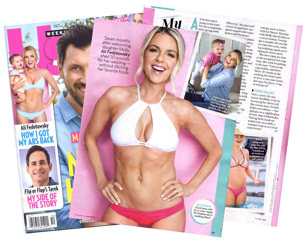 "Ali Fedotowsky ""US Weekly"" Cover Chip + Feature"