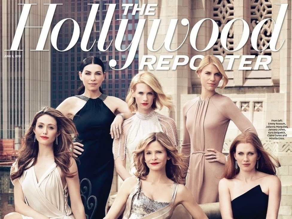 Mireille Enos on the Cover of The Hollywood Reporter