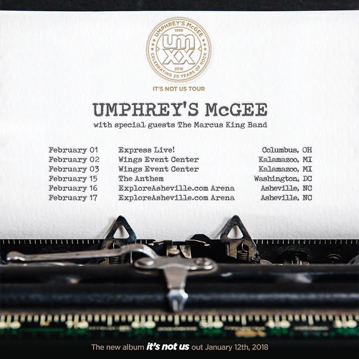 Marcus King Band Umphreys McGee Tour.jpg