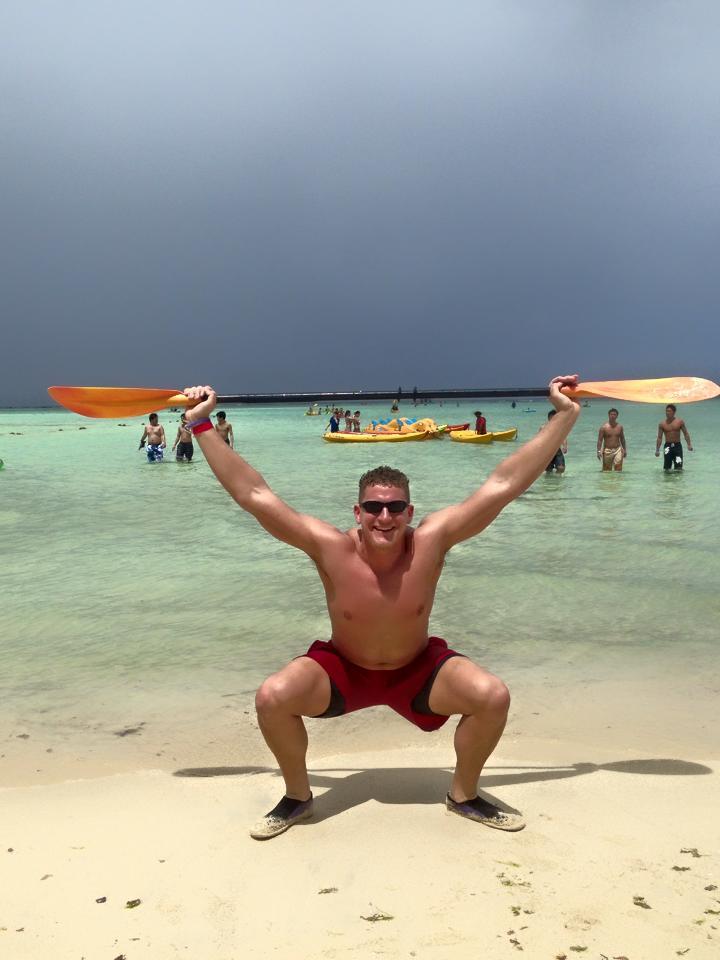 Josh in Guam