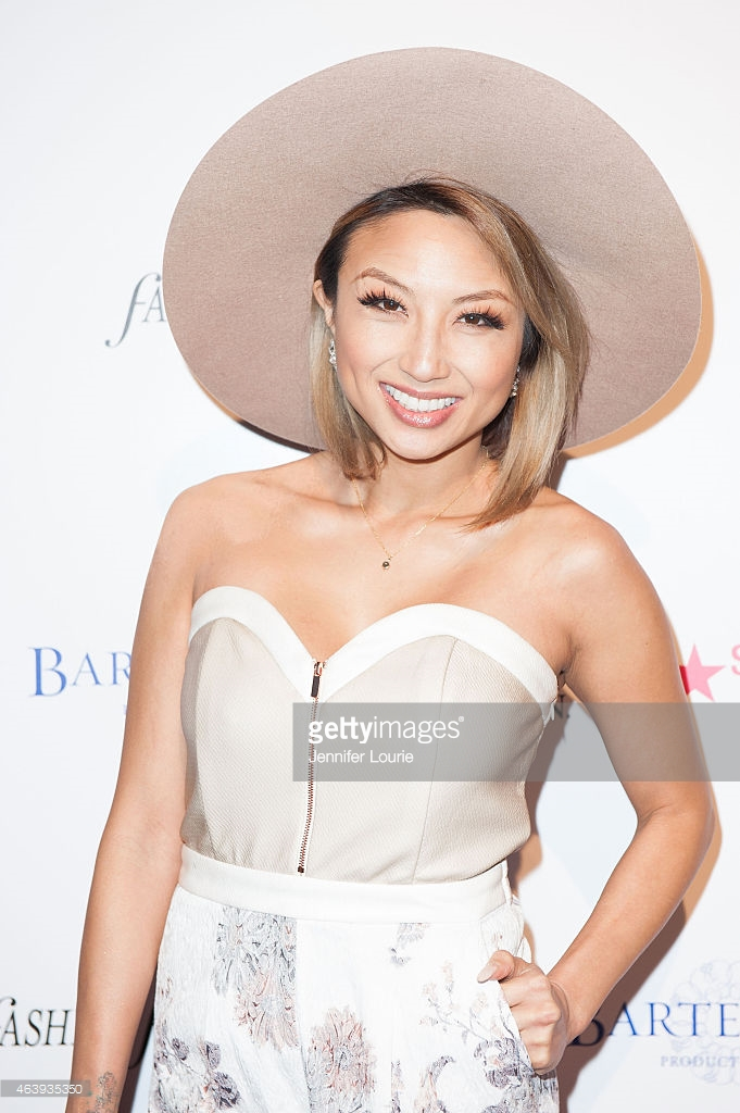Jeannie Mai arrives at the OK! Magazine Pre-Oscar Event at The Argyle on February 19, 2015 in Hollywood, California. (Photo by Jennifer Lourie/Getty Images)