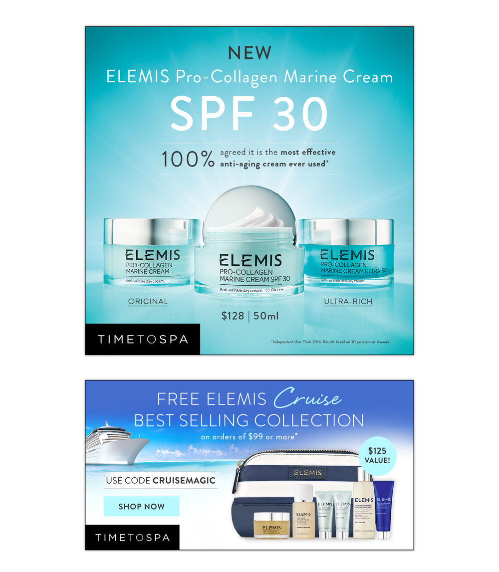 TimeToSpa : product campaigns, all online promotions