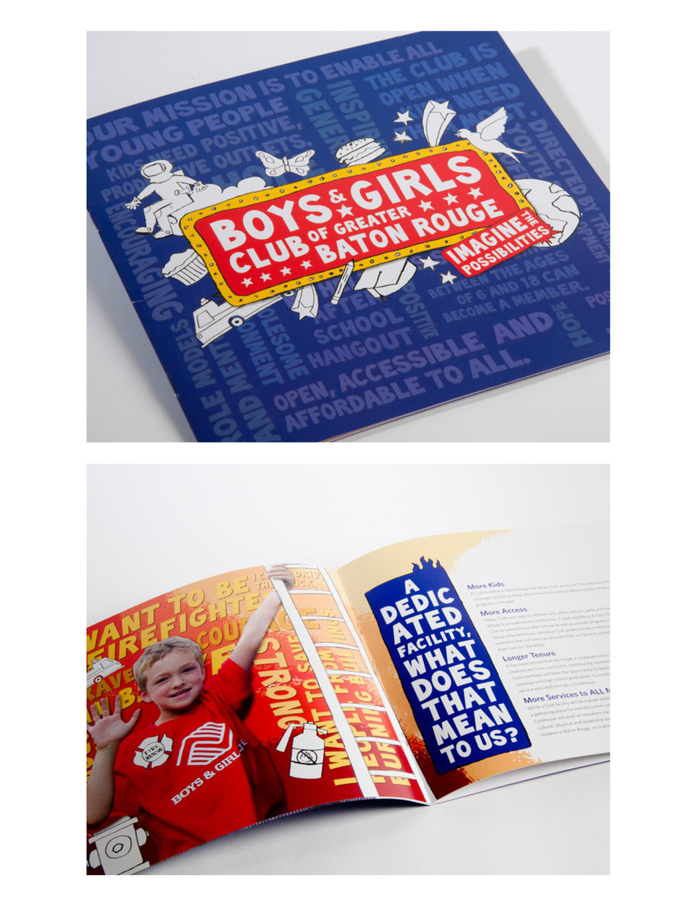 Boys & Girls Club of Baton Rouge: promotional booklet