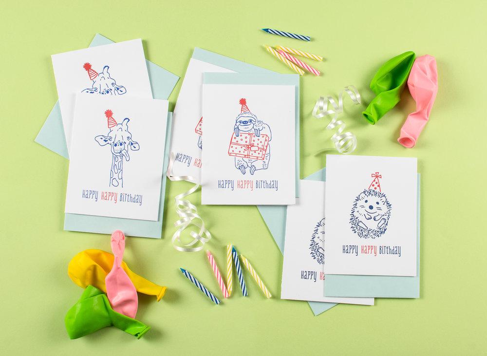 Harken Press : letterpress greeting cards